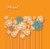 Fondo abstracto de la flor. Imágenes de archivo libres de regalías