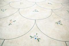 Fondo abstracto de la flor de la curva Fotografía de archivo libre de regalías