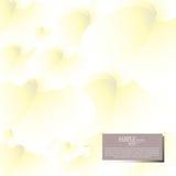 Fondo abstracto de la flor del amarillo de la acuarela del vector Imágenes de archivo libres de regalías
