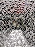 Fondo abstracto de la forma de la opinión del tubo Imagen de archivo