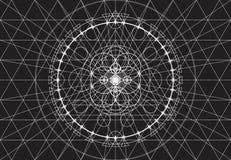 Fondo abstracto de la geometría, modelo inconsútil Imagenes de archivo