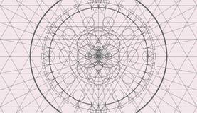 Fondo abstracto de la geometría, modelo inconsútil Foto de archivo