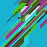 Fondo abstracto de la geometr?a para la p?gina web o la p?gina del aterrizaje libre illustration