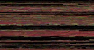 Fondo abstracto de la interferencia del ruido del pixel metrajes