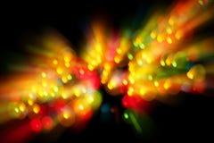 Fondo abstracto de la luz de la Navidad Imagen de archivo libre de regalías