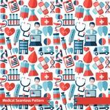 Fondo abstracto de la medicina Fotografía de archivo libre de regalías