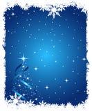 Fondo abstracto de la Navidad Imágenes de archivo libres de regalías
