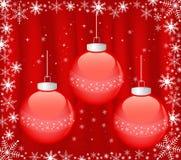 Fondo abstracto de la Navidad ilustración del vector