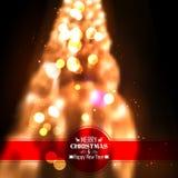 Fondo abstracto de la Navidad Fotos de archivo