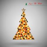 Fondo abstracto de la Navidad Foto de archivo libre de regalías