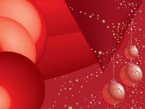 Fondo abstracto de la Navidad Foto de archivo