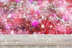 Fondo abstracto de la Navidad de la falta de definición Imagen de archivo