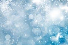 Fondo abstracto de la Navidad de las luces del día de fiesta Imagenes de archivo