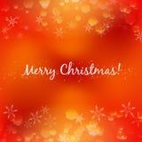 Fondo abstracto de la Navidad del diseño Fotos de archivo libres de regalías