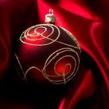 Fondo abstracto de la Navidad en el paño de lujo Imagen de archivo