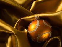 Fondo abstracto de la Navidad en el paño de lujo Imagen de archivo libre de regalías