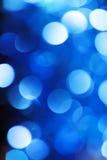 Fondo abstracto de la Navidad Luces coloreadas día de fiesta Fotografía de archivo libre de regalías
