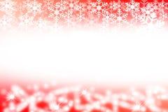 Fondo abstracto de la Navidad roja y blanca Foto de archivo