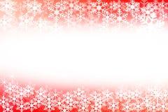 Fondo abstracto de la Navidad roja y blanca Imagenes de archivo