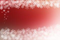 Fondo abstracto de la Navidad roja y blanca Fotos de archivo