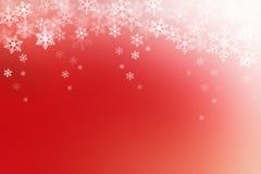 Fondo abstracto de la Navidad roja y blanca Imagen de archivo