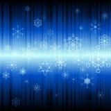 Fondo abstracto de la nieve Imagen de archivo libre de regalías