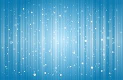 Fondo abstracto de la nieve Fotos de archivo