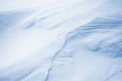 Fondo abstracto de la nieve Imagen de archivo
