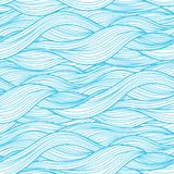 Fondo abstracto de la onda Imagen de archivo