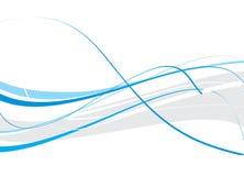 Fondo abstracto de la onda Imagen de archivo libre de regalías