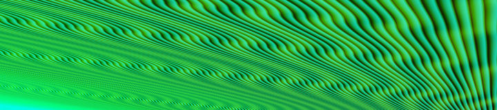 Fondo abstracto de la onda con las líneas naturales Fotografía de archivo