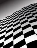 Fondo abstracto de la onda del inspector Fotografía de archivo