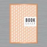 Fondo abstracto de la onda para la cubierta de libro, cartel, aviador, folleto, plantilla de la disposición de diseño del informe Fotos de archivo libres de regalías