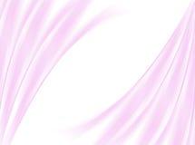Fondo abstracto de la onda rosada en blanco Foto de archivo libre de regalías
