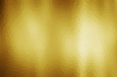 Fondo abstracto de la pendiente del oro Foto de archivo libre de regalías