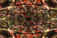 Fondo abstracto de la pintada Imagen de archivo