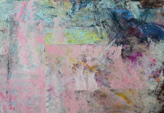 Fondo abstracto de la pintura Imágenes de archivo libres de regalías