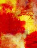 Fondo abstracto de la pintura de acrílico Foto de archivo libre de regalías