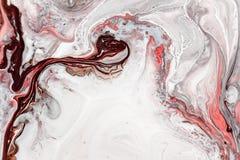 Fondo abstracto de la pintura para los papeles pintados, carteles, tarjetas, invitaciones, sitios web Efecto Marbleized ilustraci Imagen de archivo