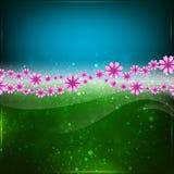 Fondo abstracto de la primavera o del verano. Foto de archivo libre de regalías