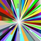 Fondo abstracto de la ráfaga Ilustración del Vector