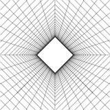 Fondo abstracto de la red del wireframe