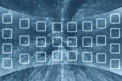 Fondo abstracto de la tecnología Fotografía de archivo