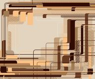 Fondo abstracto de la tecnología. Fotos de archivo libres de regalías
