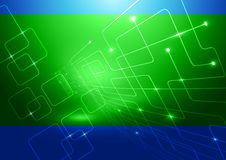 Fondo abstracto de la tecnología Imagen de archivo libre de regalías