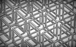Fondo abstracto de la tecnología 3D Fotografía de archivo libre de regalías
