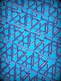 Fondo abstracto de la tecnología 3D Imágenes de archivo libres de regalías