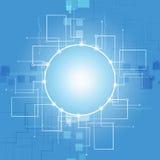 Fondo abstracto de la tecnología de comunicación Foto de archivo libre de regalías