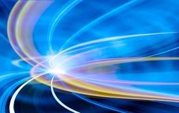 Fondo abstracto de la tecnología de la velocidad Imagenes de archivo