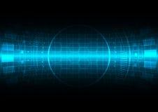Fondo abstracto de la tecnología del vector stock de ilustración